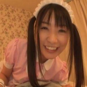 【個人撮影】メイド美少女の本気ハメ撮りです
