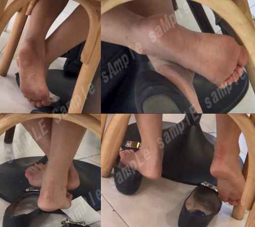 シュープレイ,足の裏,素足,靴脱ぎ,足フェチ,生足,パンプス,つま先, Download