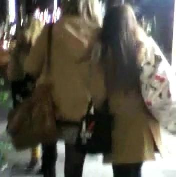 私服姿の女の子2人組【ストーキング動画】街撮り編 321