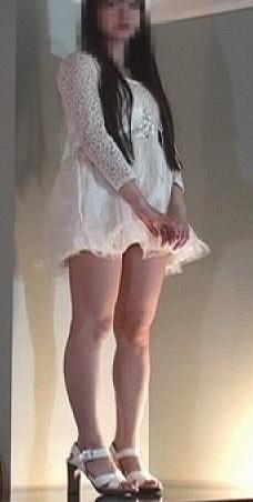 【覗き21】モデルの下着をこっそり見てみたいなと…【悪戯】