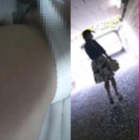 tikan010,人気の少ない駅で女子○生を見つけたので尾行してパンツを下しちゃいましたー!【mp4版】