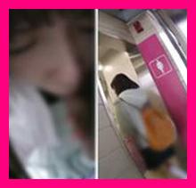 tikan018,めっちゃ可愛い女子○生をトイレでチカンして来ましたー!