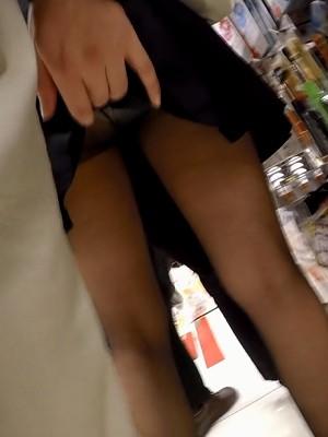 【フルHD】靴カメ君が行くPart242【白黒パンスト手撮りめくりあり編】