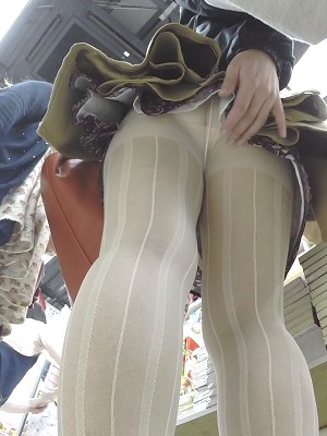【HD】靴カメ君が行くPart117【白パンスト・JK編】