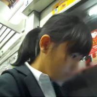 清楚系すっぴん(超)美人女子○生を観察してきました!!