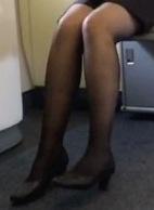 【美脚の表情】働く女性の黒スト3(春夏秋冬)4部セット【街撮り】