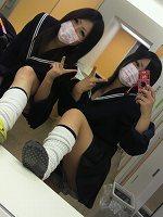 【プレゼント!!500枚】ピチピチのミニスカ制服姿の日常生活!!セット販売