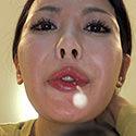 【舌フェチ唾フェチ】有沢実紗のエロ長い舌・唾・口の臭い堪能コース1