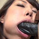 【舌フェチ唾フェチ】椿かなりのエロ長い舌でねっとり擬似フェラ射精