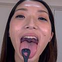 【舌フェチ唾フェチ】香苗レノンのエロ長い舌・唾・口の臭い堪能コース2