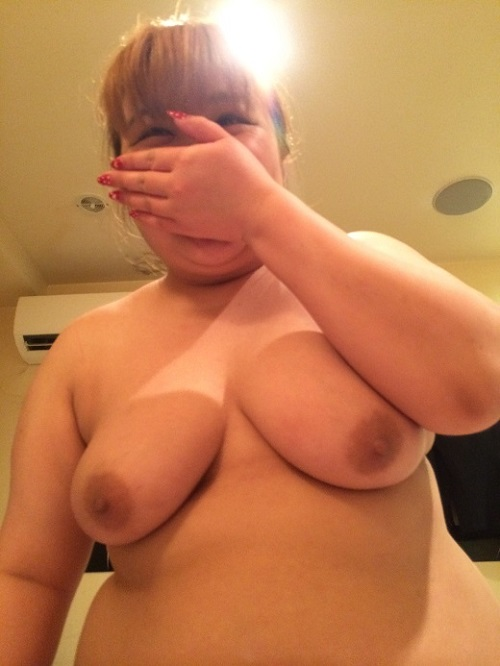 Teen BBW Huge Boobs!! in Japan