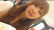 【HD動画】SSS級ルックス娘がショーパンの隙間から水玉黒ぱんちゅ接客07【高画質】