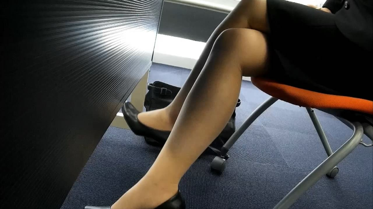 Pantyhose foot fetish of the city MOVIE MCV-002