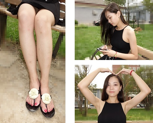 (1)ultra-high quality! teens legs, feet, under the arms