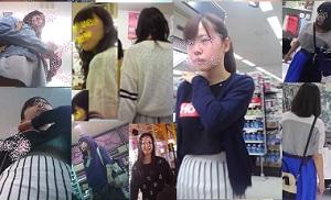 女子大生ショッピングパンチラ 3,6,7 お得セット