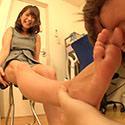 若葉ちゃんが変態M男を足責め射精!【足責めドキュメンタリー】
