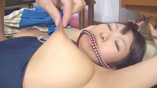 【精子漬け!】爆乳スク水娘教育01