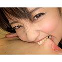【噛みフェチ】矯正中のかんなちゃんが今だけの歯型刻印!(後編)【美咲かんな】