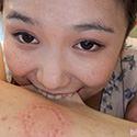 【噛みフェチ】八重歯がキラリ。杏ちゃんの噛みつきセラピー!(後編)【笹倉杏】
