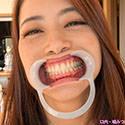 【歯フェチ】美熟女麻妃さんの歯を詳細に観察!【北条麻妃】