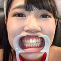 【歯フェチ】健康的美女ひなたりこちゃんの健康な天然歯観察!
