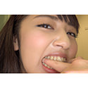 【噛みフェチ】矯正中のかんなちゃんが今だけの歯型刻印!(前編)【美咲かんな】