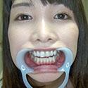 【歯フェチ】椎名りりこ(橘花音)の美しい天然歯を観察