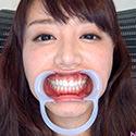 【歯フェチ】浜崎真緒ちゃんの歯を観察しました!
