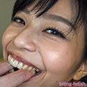 【噛みフェチ】青葉優香さんのガチ噛みプレイ!