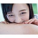 【噛みフェチ歯フェチ】鈴原エミリちゃんの白い歯で可愛い噛みつき