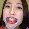【歯フェチ】伊東真緒ちゃんの歯を観察しました!