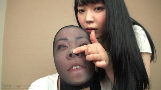 羞恥!変顔りんちゃん顔面いじりストッキングかぶせ!(通常版+3D)