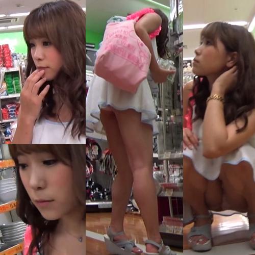【最高のエロ盗撮】完全アイドル!エロエロ全開、パンティ食い込み!!