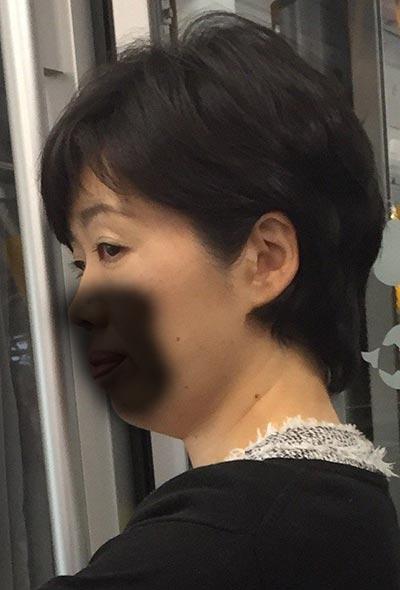 熟女痴漢:40代スマホ