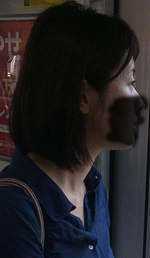 熟女痴漢:40代腰ガクガク