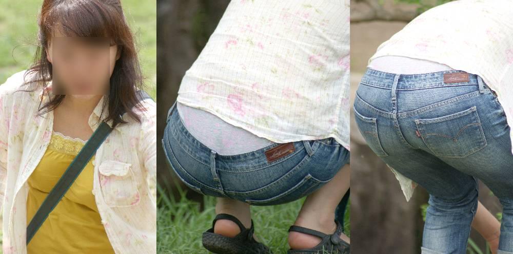 美尻と美乳を振る清楚な美人奥様は腰から恥ずかしいキ○ィーちゃんプリントの大き目フルバックパンティーを覗かせる!!