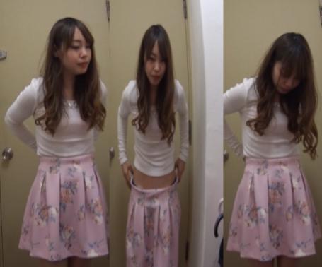 【盗撮】巨乳清楚系美女こっそりカメラ回して盗撮しちゃってます!!!