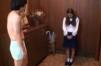 家に来た純情女子にセンズリ露出(CFNM)前編