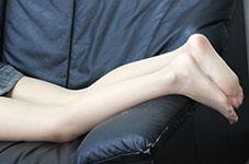 パンスト脚とソックス脚 どっちがお好き? パンスト編2