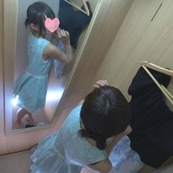 【盗撮】試着室着替えHDvol.27S級美女純白パンツ【個人撮影】