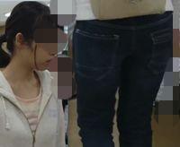 【FHD】お尻動画19 眼鏡美少女(まるでJK)のムチムチ尻
