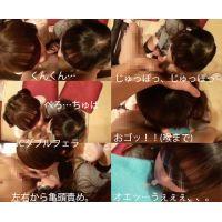 【1.2.3】5千円で小さい女の子2人にフェラ&アナル舐めさせる方法