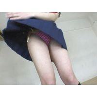 ヒラヒラとスカートを浮かせてパンティを鑑賞するPart3