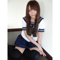 現役女子高生りえなちゃん 07 制服スッナプ高画質写真集