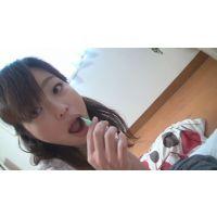 安藤○姫似の唾臭いOLに顔面舐められ唾を垂らされました(完全オリジナル)