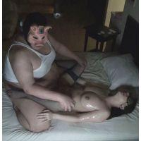 【個撮¥キモ男】タカナシチエ(キャバ嬢)【1】Fカップボディとデブの奉仕SEX→オイルSEX【71分】