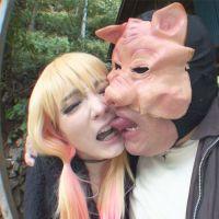 【個撮¥キモ男】サキジマレン【1】ボーイッシュコスプレイヤーと豚のアニコスSEX、野外SEXの2セット