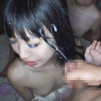 【個撮¥キモ男】アカツキカノン(バンギャ)【2】フェラ連続顔射 X 野外でオシッコかけられる生意気女
