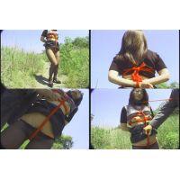 素人女性、野外露出調教1−4