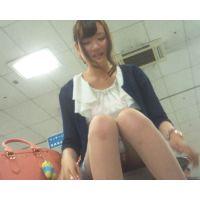 HD高画質 笑顔が可愛い女の子をたっぷり盗撮♡ ※めくり・胸チラもGET!!